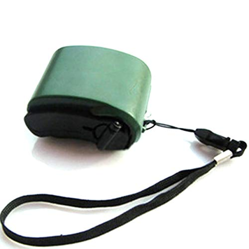 Morninganswer Teléfono móvil Energía de Emergencia USB Cargador de manivela Generador eléctrico Carga móvil Universal Carga de dínamo Manual