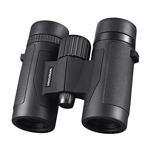Wingspan Optics FieldView 8X32 Compact Binoculars for Bird Watching. Lightweight