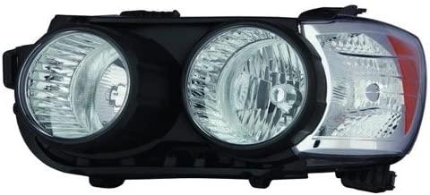 Go-Parts - OE Replacement for 2012 - 2014 Chevrolet Sonic Front Headlight Assembly Housing / Lens / Cover - Left (Driver) Side - (All submodels Hatchback + LS Sedan + LT Sedan + LTZ Sedan) 96830969