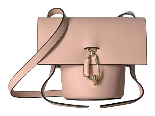 Reboot your style for the season with the stunning geometry of the ZAC Zac Posen™ Belay Mini Crossbody. Made from smooth 100% leather. Top spacious opening with fold over flap and lobster claw clasp for closure. Crossbody carry strap with a removable...