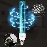 Qmcmc E27 Uv Lampade Ozono Al Quarzo Lampade Germicide Ultraviolette Lampada Uv per La Casa...
