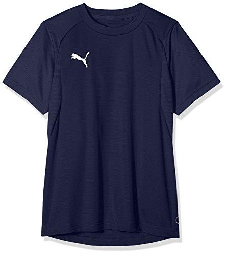 Puma Kinder LIGA Training Jersey Jr T-shirt, Peacoat White, 140