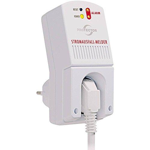 Protector Stromausfall-Melder SAM 1000 akkubetrieben Lautstärke 85 dBA