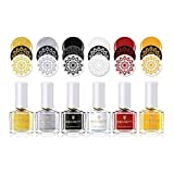 BORN PRETTY Stemple-Nagellack farbige Nägel, 6 ml