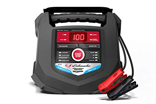 Schumacher SC1280 15 Amp Rapid Charger for Automotive and Marine Batteries