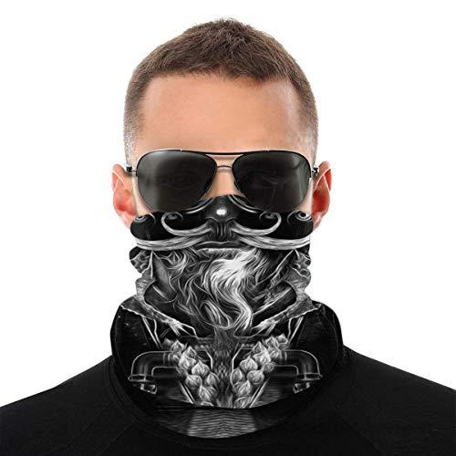 Skull Neck Gaiters Reusable Motorcycle Riding Fishing Hunting Mask For Men Women Festival Event 1