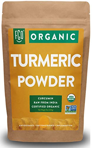 Organic Turmeric Root Powder w/ Curcumin | Lab Tested for Purity |...