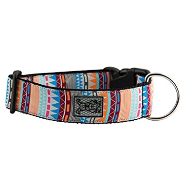 RC Pet Products 1 1/2  Wide Dog Collar, Large, Fringe