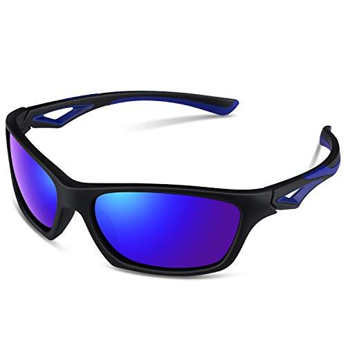 Polarized Sunglasses for Kids Boys Girls Child Children Toddler Wayfarer Youth Sports