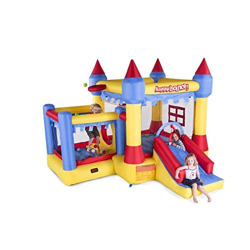 Castello Gonfiabile Happy Bounce Nuovo Castello 5in1 Avyna