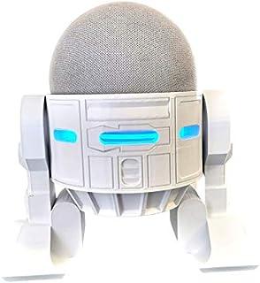 Suporte Base De Mesa Splin para Echo Dot 4 Amazon modelo Robô Falante (branco)