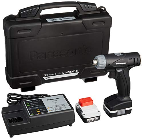 Panasonic(パナソニック)充電ドリルドライバーブラックEZ7420LA2S-B