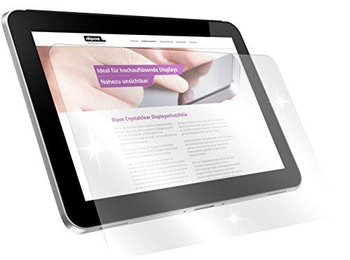 dipos I 2X Schutzfolie klar kompatibel mit Odys WinPad PRO X10 Folie Bildschirmschutzfolie