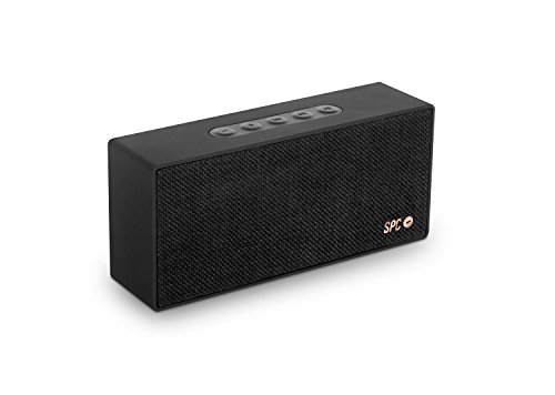 SPC Bang Speaker altavoz bluetooth color negro con acabado en...