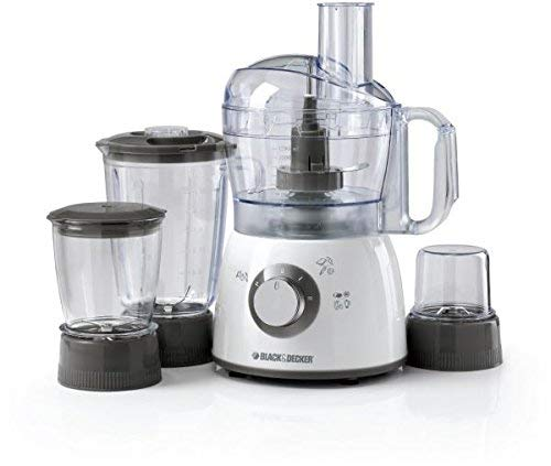 Black & Decker FX400BMG 400W Food Processor with Blender, Mincer & Grinder 220V (Not for USA - European Cord)