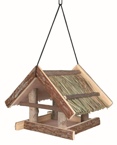 Trixie 55661 Natural Living Futterhaus, 25 × 25 × 25 cm, natur