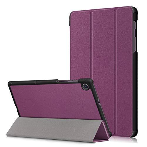 Gylint Samsung Galaxy Tab A 8.4 2020 Case, Smart Case Trifold Stand Slim Lightweight Case Cover for Samsung Galaxy Tab A 8.4 2020 SM-T307 Purple