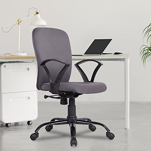 Green Soul® Seoul-X Mid Back Office/Study Chair with Multi Color Options (Bold Grey)