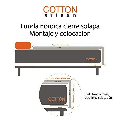 Cotton Artean Bettbezug Indi II Bett von 9...