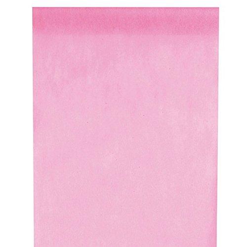 Santex NEU Tischläufer rosa, 30cm x 10m