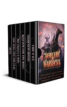 Sorcery & Warlocks: Six Dark Fantasy Novels by [Patty Jansen, James E. Wisher, Tara Saunders, Deborah Jay, William L. Hahn, Kylie Quillinan]