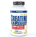 Weider Creatine Capsules - Creapure Kreatin Monohydrat 200 Kapseln, Krafttraining -
