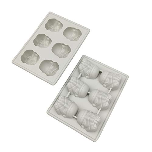 Food Grade Stormtrooper Silicone Candy Making Mold and Ice Cube Tray