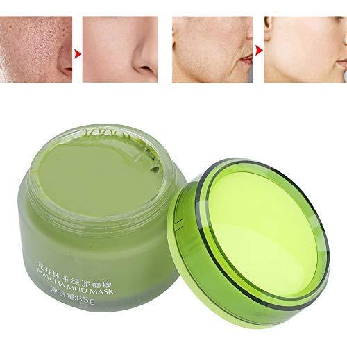 Gesichtsmaske Schlamm,Matcha Feuchtigkeitsspendende Feuchtigkeitsöl Kontrolle Tiefenreinigung Maske Schlamm,85g