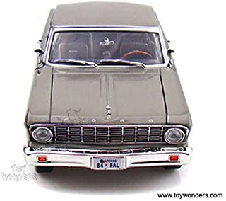 92708sv Yatming - Ford Falcon Hard Top (1964, 1:18, Silver) 92708 Diecast Car Model Auto Vehicle Die Cast Metal Iron Toy Transport