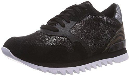 Tamaris Damen 23610 Sneakers, Mehrfarbig (Black Comb 098), 37 EU