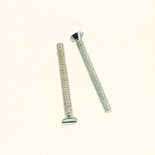 """Extra Long 1 - 1/2 """" 6 - 32 Screw Flat Head Device Mounting Screw (20 PACK)"""