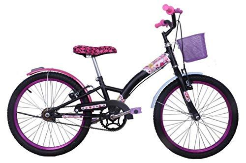 Bicicleta Infantil Aro 20 Feminina Fashion High