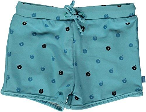 Smafolk Jungen Badehose air blue mit kleinen Äpfeln Größe 104/110