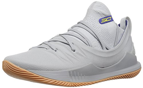 Under Armour Men's Curry 5 Basketball Shoe, Elemental (105)/Overcast Gray, 12.5