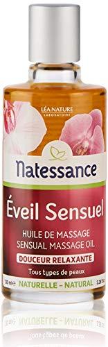 Léa Nature - NATESSANCE - Huile de Massage Éveil Sensuel Douceur Relaxante - Tous type de paux - 100 ml