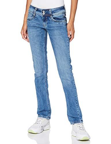 Pepe Jeans Gen Jean Droit Femme - Bleu (000Denim 000) - 29W / 32L