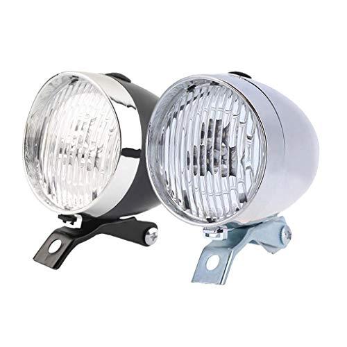 freneci Juego de Luces Retro de 2 Piezas Super Bright 3 Luces Delanteras LED