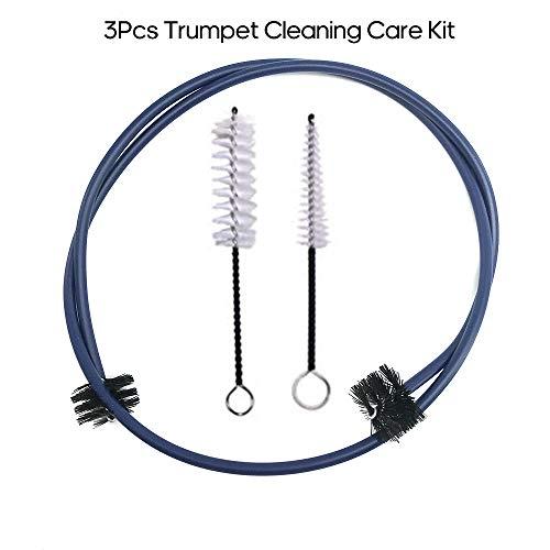 JJmooer 3pcs kit de nettoyage de nettoyage de trompette...
