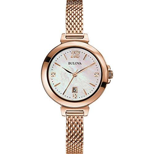 Reloj de pulsera Bulova para mujer Diamanti 97P108 estilo casual, código 97P108