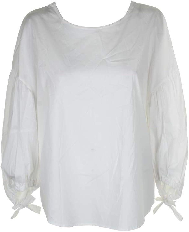 DKNY Womens TieSleeves Dressy Blouse
