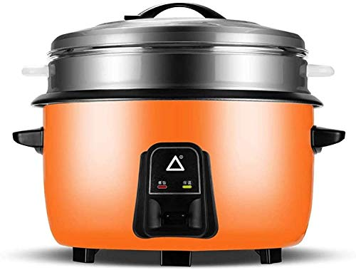 Rice Cooker 8L Rice Cooker with Stainless Steel Steamer Basket Large Capacity Steamer Pot for 6-12 People - Hotel Canteen Restaurant Fast Food Restaurant