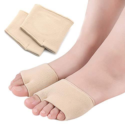 Almohadillas para el antepié con almohadillas de gel cuidado de los pies, cómodas almohadillas para aliviar el dolor de los pies, neuroma y alivio de la presión para la metatarsalgia