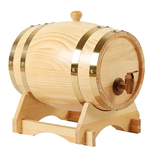 ZYNS Barril De Vino Dispensador De Almacenamiento De Barril De Vino para Whisky Home Hotel Home Barrel Beer Herramientas para La Olla De Ron Whiskey Wine Mini Home