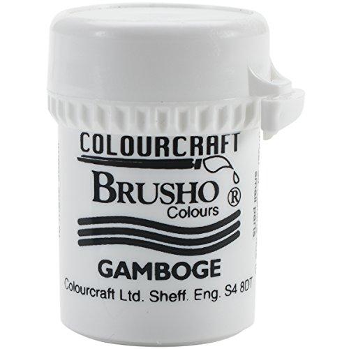PanPastel Brusho Crystal Colour 15g-Gamboge