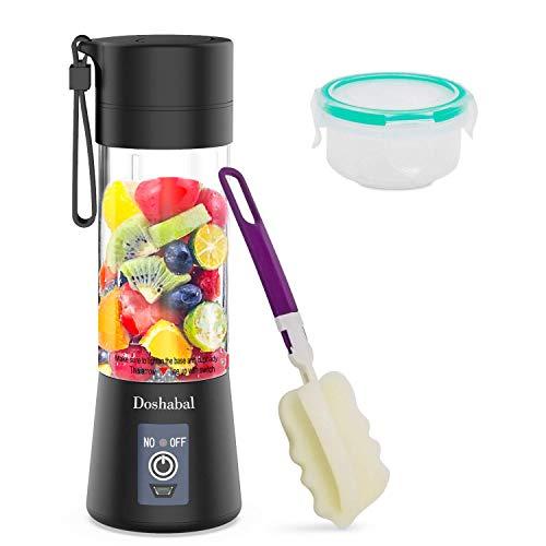 USB Blender, Doshabal Portable Personal Blender, Smoothie Blender to go, Rechargeable Blender shakes and smoothies