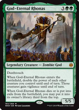 Magic: The Gathering - God-Eternal Rhonas - War of The Spark