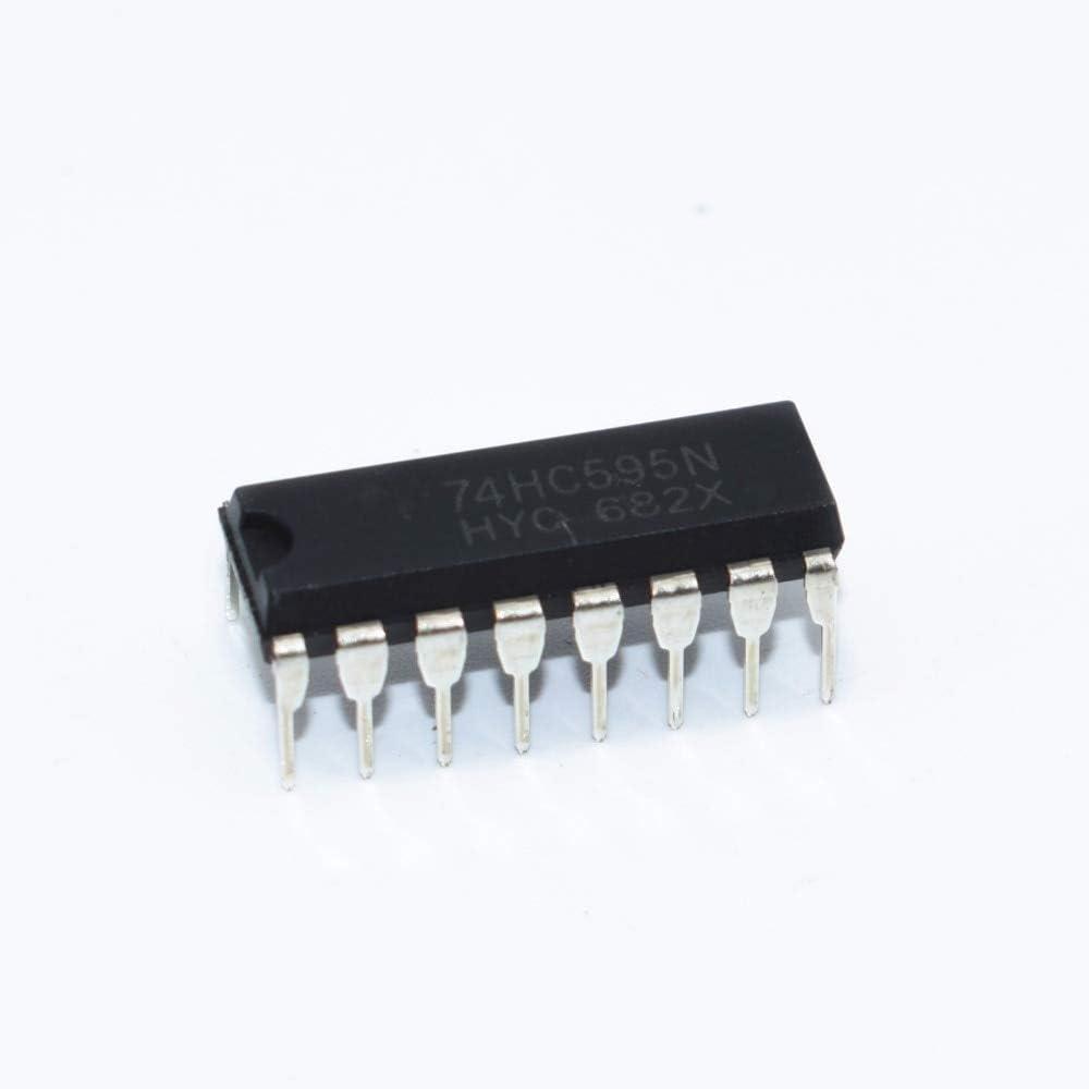 100PCS SN74HC595N DIP16 SN74HC595 DIP IC New 74HC595N Max Max 40% OFF 45% OFF 74HC595