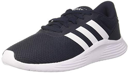 adidas Mens Lite Racer 2.0 Sneaker, Legend Ink/Footwear White/Core Black, 43 1/3 EU
