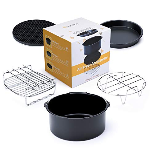 Air Fryer Accessories for Gowise Phillips and Cozyna, Fit all 3.7QT-5.3QT-5.8QT, Upgrade Air Fryers Universal Set of 5