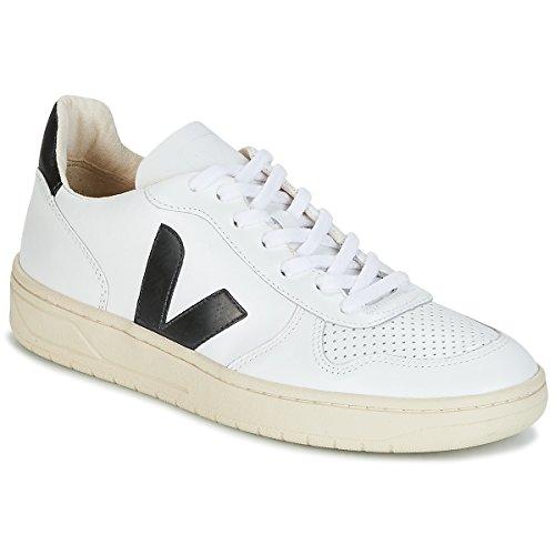 Sneaker V-10 Bianco Nero - 36